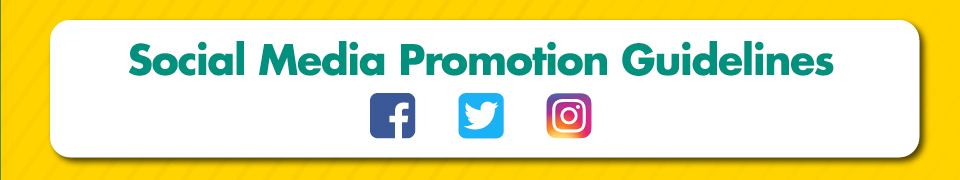 Social Media Promotion Guidelines