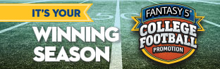 FANTASY 5 College Football Promotion - It's Your Winning Season