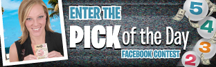 Enter the PICK of the Day Facebook Contest
