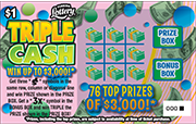 1304-TRIPLE CASH Scratch-Off Ticket