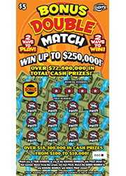 1348-Bonus Double Match Scratch-Off Ticket