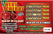 1354-Very Cherry Scratch-Off Ticket